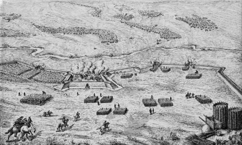 відсіч нападу на бєльовську фортецю