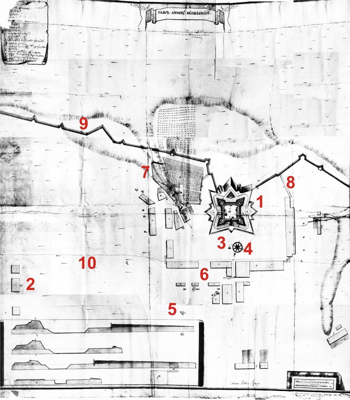 план місто фортеця